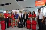 Vietjet chào mừng chuyến bay đầu tiên Hà Nội – Siem Reap