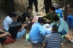 """Hiện trường sới bạc """"khủng'' vừa bị công an triệt phá ở Hà Nội"""