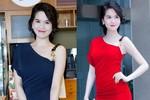 Mỹ nhân Việt đọ vai trần gợi cảm với đầm sexy