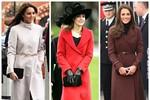 Nàng công sở mặc đẹp: Mặc áo choàng tuyệt đẹp như công nương Kate