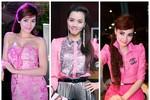 Thời trang hồng toàn tập của 'cô sến' Trang Nhung