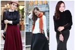 Nàng công sở mặc đẹp: Chân váy dài cho cô bạn 'cò hương'