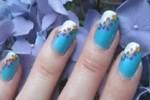 Mang vườn hoa xuân lên móng tay xinh của bạn