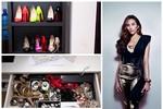 'Khám' tủ hàng hiệu đắt tiền của Á hậu Hoàng Yến