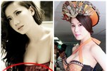 Sốc: Vòng eo 'trung thực' của mẫu Việt