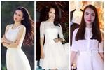 9 ứng dụng váy trắng tuyệt đẹp của sao
