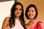 Ngô Thanh Vân bị nghi ghép ảnh chụp cùng Angelina Jolie