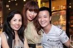 Lương Mạnh Hải thân thiết bên siêu mẫu Hà Anh