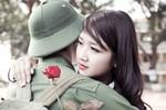 Hoa khôi Vĩnh Phúc ngập ngừng tiễn bạn trai nhập ngũ