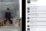 Thanh niên ngồi lên tượng đài vua Lý Thái Tổ có thể là chụp ở Bắc Ninh