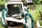 Gần 130 nhân viên y tế đã tử vong do nhiễm vi rút Ebola