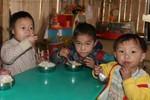 Hàng trăm học sinh tiểu học bị mất bữa trưa hoặc ăn mỳ tôm thay cơm