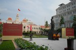 Tổng Bí thư Nguyễn Phú Trọng dự khánh thành tượng đài Chủ tịch Hồ Chí Minh