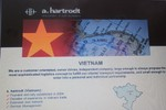 Cty Hartrodt thiết kế quảng cáo dùng bản đồ thiếu quần đảo Hoàng Sa, Trường Sa