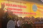 Chủ tịch nước chúc mừng khánh thành Học viên Phật giáo Việt Nam ở TP.Hồ Chí Minh