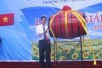 Bí thư Thăng đánh trống khai giảng ở Trường Lương Thế Vinh