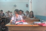 Học sinh Sài Gòn đua nước rút trước kỳ thi trung học phổ thông quốc gia