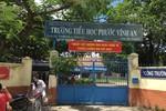 Bên trong Trường tiểu học Phước Vĩnh An tồn tại nhiều chuyện gian dối