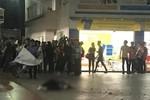 Nam sinh viên tử vong ở sân trường HUTECH, nghi do trúng bê tông rơi