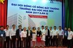 Trường Đại học Hoa Sen bầu Hội đồng quản trị, Ban kiểm soát nhiệm kỳ mới