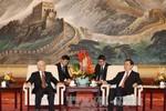 Tổng Bí thư Nguyễn Phú Trọng hội kiến Chủ tịch Quốc hội Trung Quốc