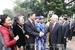 Tổng Bí thư chúc Tết Đảng bộ, chính quyền, nhân dân thành phố Hà Nội
