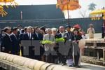 Nhật hoàng Akihito và Hoàng hậu Michiko đến thăm Cố đô Huế