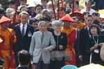 Nhà vua và Hoàng hậu Nhật Bản nghe Nhã nhạc cung đình Huế