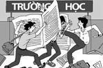Một học sinh bị ăn đòn vì chào thầy bằng tiếng Anh