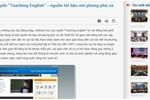 Chính sách về dạy tiếng Anh ở Việt Nam được xây dựng từ đâu?