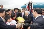 Tổng Bí thư Nguyễn Phú Trọng đã đến Thủ đô Phnom Penh