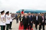 Trang trọng lễ đón chính thức Tổng Bí thư Nguyễn Phú Trọng tại Campuchia