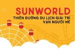 """""""Vui hết nấc"""" tại thiên đường giải trí Sun World"""
