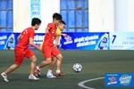 Giải bóng đá học sinh Hà Nội tranh Cup Number 1 Active vào giai đoạn gay cấn