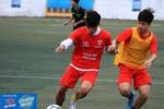 Kịch tính ở vòng tứ kết Giải bóng đá học sinh Hà Nội - Cup Number 1 Active