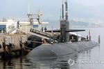 Tàu ngầm hạt nhân Mỹ sẽ ở lại bán đảo Triều Tiên sau diễn tập Mỹ-Hàn