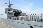 Tàu hộ vệ RSS Intrepid Hải quân Singapore thăm Hạm đội Nam Hải, TQ
