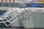 Tàu hộ vệ Trung Quốc trang bị thiết bị định vị thủy âm mới