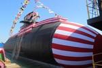 Nhật Bản tổ chức lễ hạ thủy tàu ngầm Thần Long khiến TQ khiếp sợ