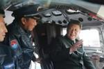 Máy bay ném bom Trung Quốc diễn tập ném bom các mục tiêu của Mỹ-Nhật-Đài