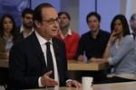Tổng thống Pháp muốn gặp Putin để giải quyết vấn đề tàu Mistral