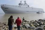 Pháp chế tạo xong tàu sân bay trực thăng lớp Mistral thứ hai cho Nga