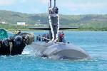 Tàu ngầm hạt nhân Mỹ đến Philippines để theo dõi tàu ngầm Trung Quốc