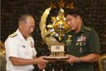 Tướng Nhật đến Philippines nâng cấp quan hệ quốc phòng, quan ngại Biển Đông