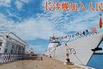 Hạm đội Nam Hải Trung Quốc chính thức biên chế tàu khu trục Trường Sa