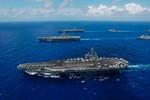 Mỹ dùng tàu sân bay Ronald Reagan cảnh cáo Bắc Triều Tiên, thị uy Trung Quốc