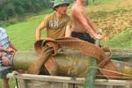 Nghệ An: Phát hiện bom phá hoại dưới lòng sông Lam