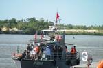 Bộ đội Biên phòng diễn tập cứu ngư dân gặp nạn trên biển