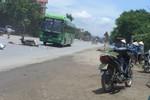 Xe khách tông xe máy, một người tử vong