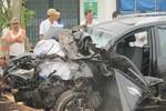 Tai nạn giao thông nghiêm trọng làm ba người chết, 4 người bị thương